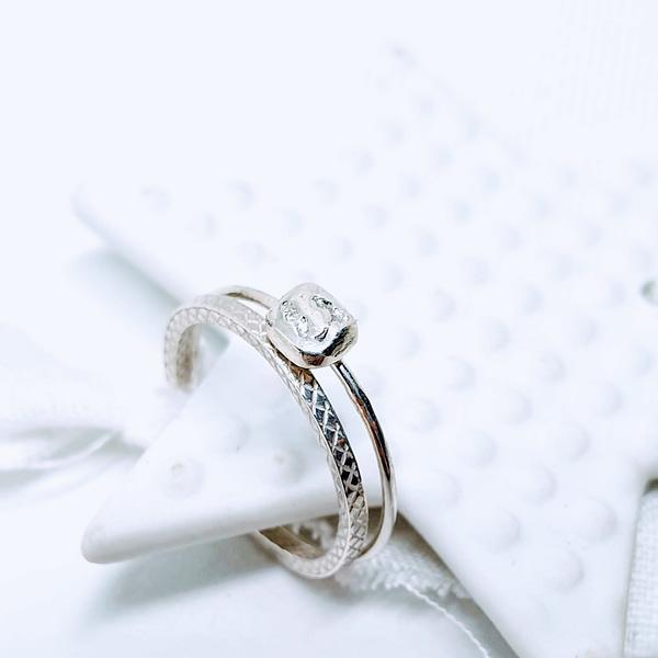 bagues galet ring