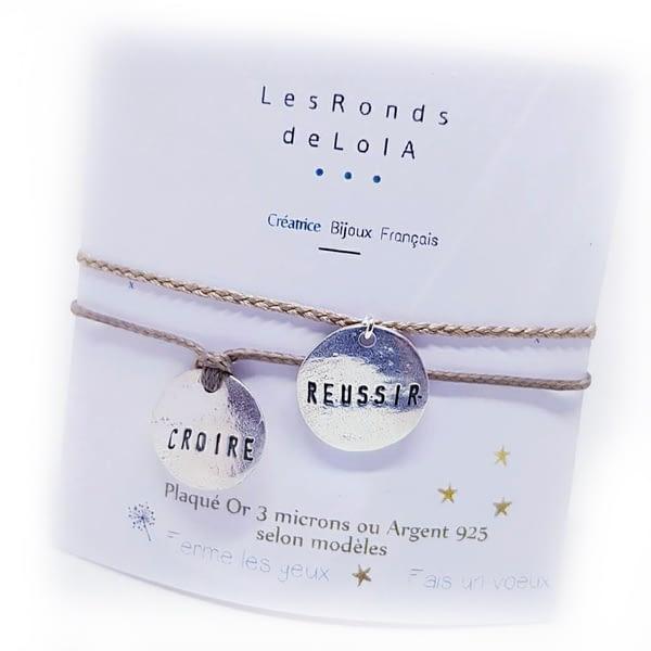 personnalisation bracelet