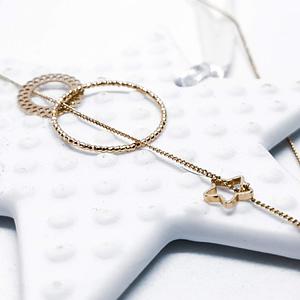 collier bijou fin brille