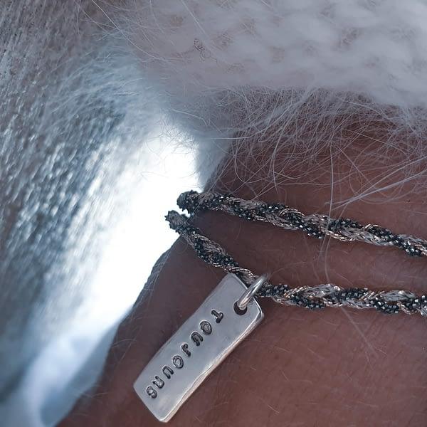 bracelet toujours argent grave