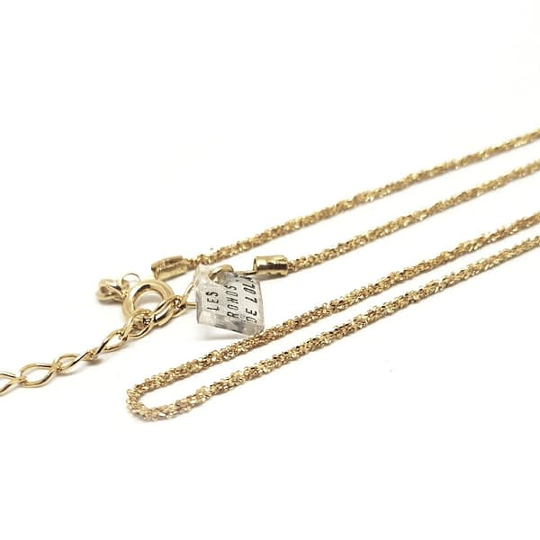 bracelet pepites chaine vermeil